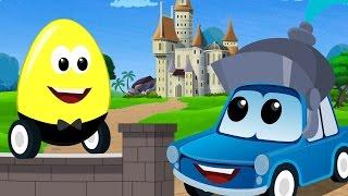 Zeek and friends | Humpty Dumpty sat on a wall | nursery rhymes | car rhymes and songs