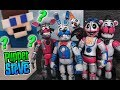 FNAF Five Nights at Freddy's BOOTLEG Funtime BONNIE CHICA 5 inch Figures Sister Location TOY Fake