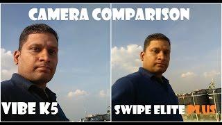 [हिन्दी] कैमरे की तुलना लिनोवो वाइब के5 बनाम स्वाइप इलाइट प्लस | शर्माजी टेक्निकल