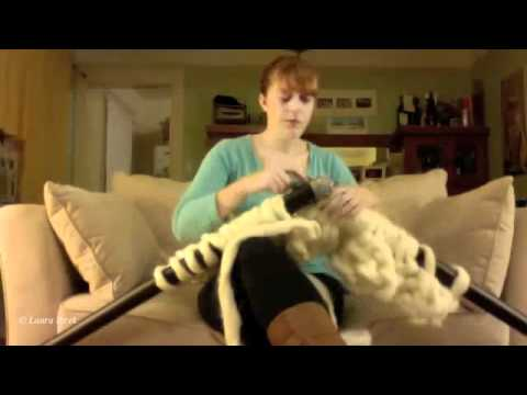 How to knit a GIGANTO BLANKET