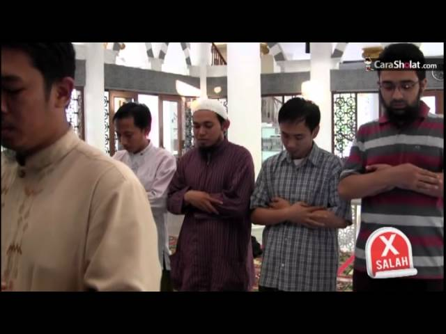 12. Cara Shalat Nabi: Takbirotul Ihram - Video CaraSholat.com