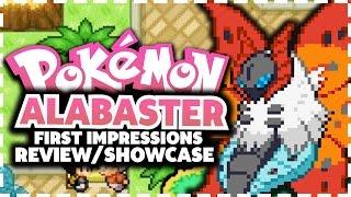 Pokemon Alabaster - Pokemon Fan Game Review/Showcase