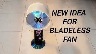How to make a bladeless fan ta home using a plastic bottle/ New idea for fan / by do yourself