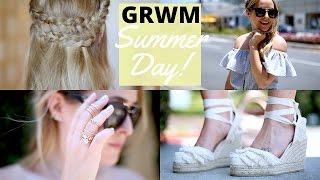 GRWM - SUMMER DAY IN LA!   Fleur De Force