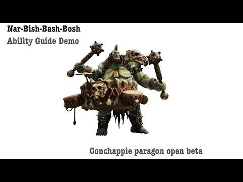 Nar-Bish-Bash-Bosh Conchappie's Narbash move guide and demo