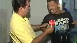 O Reporter Jeremias BEBADO PRESO SE FERRA +