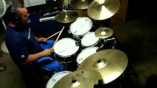 Radar Love (video version) - White Lion (drum cover - r2kmix)