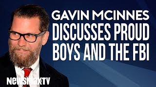 Gavin McInnes Discusses The FBI Fake News Story About The Proud Boys