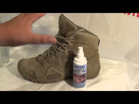 Пропитка для обуви водоотталкивающая своими руками