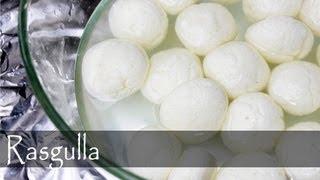 Bengali Rasgulla Recipe - Indian Vegetarian Cuisine