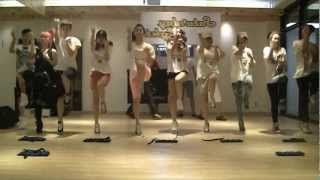 Crayon Pop - Saturday Night mirrored Dance Practice