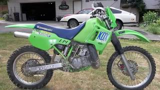 1989 Kawasaki KDX200 REVIEW