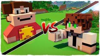 👉 Casa de STEVEN UNIVERSE vs casa de BEN 10 - MINECRAFT