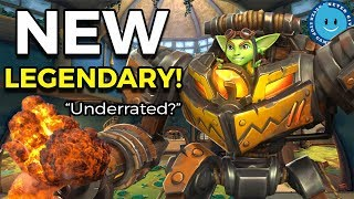 Paladins: Ruckus Gameplay and New Flux Generator Legendary! New Missile Launcher Ability IS DOPE!