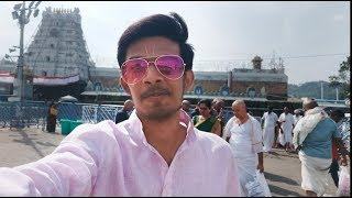 Tirupati Balaji Mandir Vlog || South India Trip Ep 2 || 2018 Sahil Talks