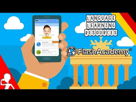 The Best Language Learning Resources + GIVEAWAY | Today: Flash Academy | A Review By Get Germanized
