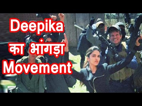 Deepika Padukone in 'bhangra-mood' on 'XXX' set