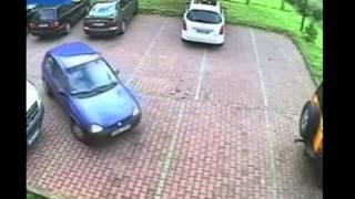 Painful to watch 'Worst parking exit EVER' in 4min video