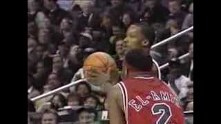 Steve Francis - Mic'd Up and Putting on a Show at 2001 Rookie Game