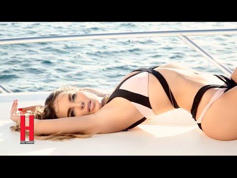 Belinda ¡Espectacular Como nunca la habias visto en H para hombres diciembre 2014