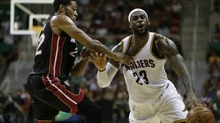 Cleveland Cavaliers vs Miami Heat Full Highlights - NBA Pre-Season 2014