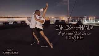 Carlos & Fernanda  Improvised Zouk Dance - Say Something