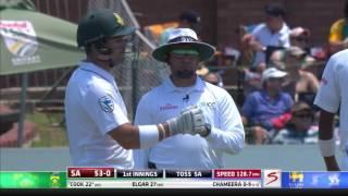 South Africa vs Sri Lanka - 1st Test - Day 1 - Session 1 - Highlights