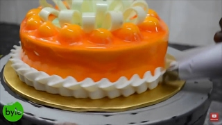 Cake Making | How Pastry Ice Cake is made in a Bakery | Indian Food