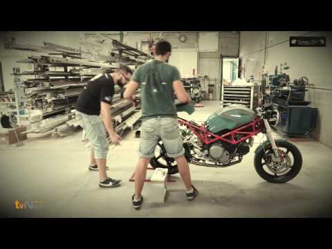 Ducati Monster S2R 800 cafe racer by Tartessos C&C tartessoscc Tartessoscc