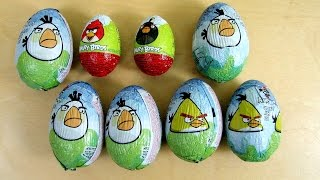 Angry Birds Surprise Chocolate Eggs