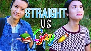 Straight vs Gay: Back to School!