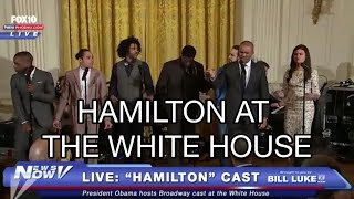 Hamilton FULL Performance at The White House: 'Alexander Hamilton' and 'My Shot', President Obama
