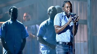 2016 Grammy Awards: Kendrick Lamar Amazing Performance!