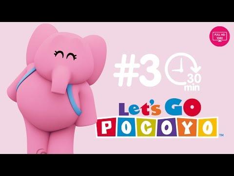 Let s Go Pocoyo 30 MINUTES Episode 3 in HD