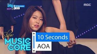 [Comeback Stage] AOA - 10 Seconds, 에이오에이 - 텐 세컨즈 Show Music core 20160521