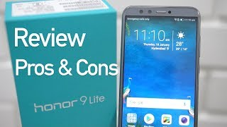 Honor 9 Lite Budget Smartphone Review with Pros & Cons