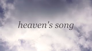 Heaven's Song // Jeremy Riddle & Bethel Music // Tides Official Lyric Video