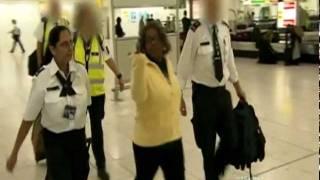 Customs UK (Gatwick Airport) - The Gangsta Granny Drug Smuggler
