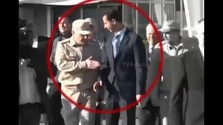 ضابط روسي يهين بشار الأسد امام بوتين في قاعدة عسكرية بسوريا