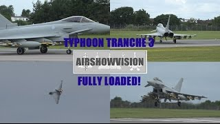 TYPHOON TRANCHE 3: FULLY LOADED - AIRSHOW DEMO 2016 (airshowvision)