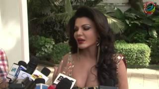 Rakhi Sawant makes fun of Sunny Leone's Condom Ad