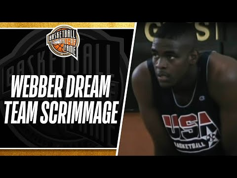 The Dream Team Scrimmages Against Chris Webber and the 1992 Select Team