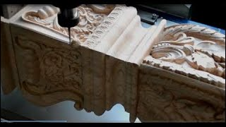 [Technology Video] 4 Axis Cnc Router Engraver : Full Motion
