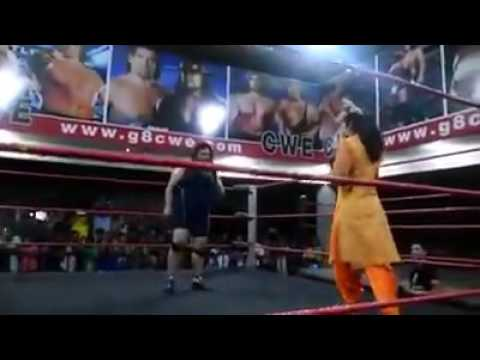 Wrestler Invited A Punjabi Kudi In Salwar Kameez For Fight But She Never Expected This