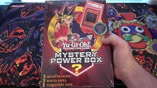 Yugioh Toysrus Mystery Power Box Opening - Original Series Pack & Older Structure Deck!!!