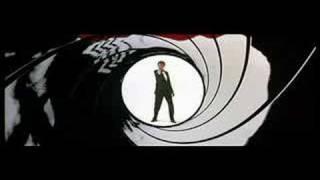 Pierce Brosnan Custom Gunbarrel - Goldfinger