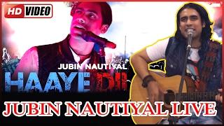 "Singer Jubin Nautiyal Live- Performance -Album ""HAAYE DIL"""