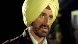 Jimmy Shergill confronts Rahul Dev - Dharti