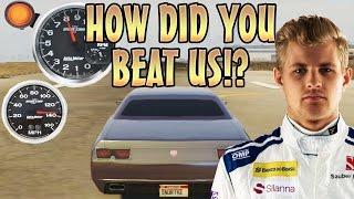 RACE CAR TROLLING PEOPLE WITH NITRO! (GTA 5 Funny Trolling)
