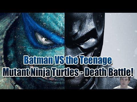 Batman vs The Teenage Mutant Ninja Turtles Death Battle Who Would Win